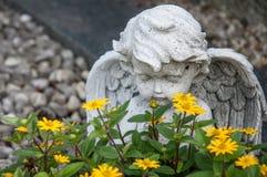 De engel van de begraafplaats Royalty-vrije Stock Foto