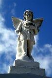 De engel van de begraafplaats Royalty-vrije Stock Afbeeldingen
