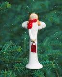 De engel van de Kerstmisdecoratie stock afbeelding