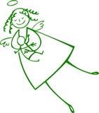 De engel van de moeder Royalty-vrije Stock Afbeeldingen