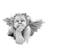 De Engel van de sneeuw Stock Afbeelding