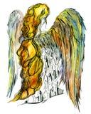 De engel van de stad Stock Afbeelding