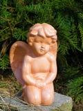 De engel van de tuin Royalty-vrije Stock Afbeeldingen