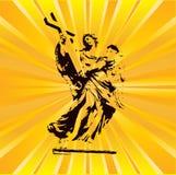 De Engel van de zonnestraal Royalty-vrije Stock Foto