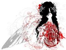 De engel van Fallan Royalty-vrije Stock Foto
