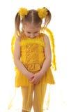 De engel van het meisje. stock foto's