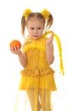 De engel van het meisje. royalty-vrije stock fotografie
