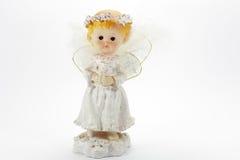 De engel van het meisje Stock Foto