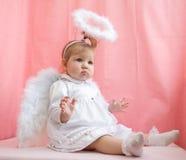 De engel van het meisje Royalty-vrije Stock Afbeeldingen