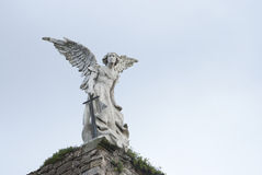 De engel van het standbeeld royalty-vrije stock foto's