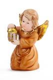 De engel van Kerstmis Stock Foto's
