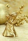 De engel van Kerstmis Stock Foto