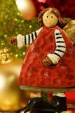 De engel van Kerstmis Royalty-vrije Stock Fotografie