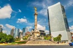 De Engel van Onafhankelijkheid in Mexico-City stock afbeelding