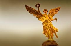 De Engel van Onafhankelijkheid in Mexico-City, Mexico stock foto's