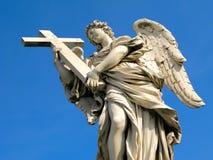 De Engel van Sant'Angelo van Castel Stock Foto