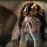 De Engel van Shamanic Royalty-vrije Stock Fotografie