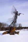 De Engel van Tchernobyl van Genade Stock Foto's
