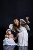 De engelen Royalty-vrije Stock Foto's