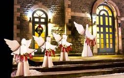 De Engelen van de kerk Stock Fotografie