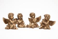 De engelen van het brons Stock Afbeeldingen