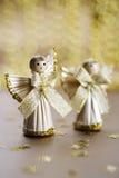 De engelen van het stro Stock Afbeelding