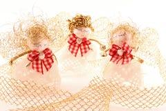 De engelen van Kerstmis Royalty-vrije Stock Foto