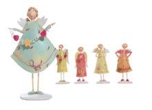 De Engelen van valentijnskaarten Stock Afbeelding