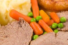 De Engelse lunch van de Zondag stock afbeelding