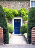 De Engelse Tuin van het Land Stock Afbeeldingen