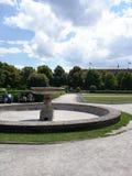 De Engelse Tuinen van München Stock Foto