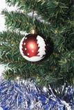 De enige Bal van Kerstmis stock afbeelding