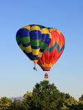 De enige Ballon van de Persoon Royalty-vrije Stock Foto