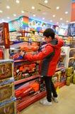De Entertainer Toys Shop Istanbul Turkije royalty-vrije stock afbeelding