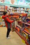 De Entertainer Toys Shop Istanbul Turkije royalty-vrije stock foto
