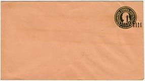 De envelop van de één centV.S. Royalty-vrije Stock Foto's