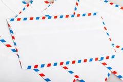 De envelop van de luchtpost Stock Afbeelding