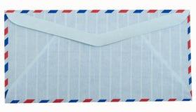 De envelop van de luchtpostbrief Stock Afbeelding