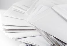De enveloppen van de post Stock Afbeelding