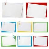 De enveloppen van het document Stock Foto's