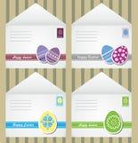 De enveloppen van Pasen Stock Foto