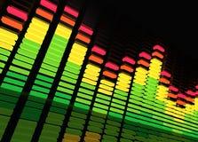De Equaliser van de muziek stock illustratie