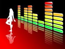 De equaliser van de muziek Royalty-vrije Stock Fotografie