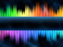 De equaliser van de regenboog stock illustratie