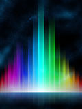 De equaliser van de regenboog Stock Fotografie