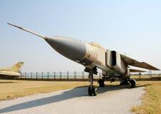 De era straalvechter van de koude oorlog Royalty-vrije Stock Afbeeldingen