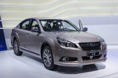 2013 de Erfenis autoshow-SUBARU van GZ Stock Foto's
