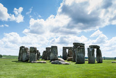 De Erfenisplaats van de Stonehengewereld, de Vlakte van Salisbury, Wiltshire, het UK stock foto