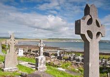 De ernstige kust Ierland van het plaatswesten Stock Fotografie