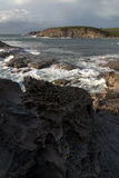 De erosie van de rots Royalty-vrije Stock Foto's